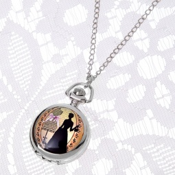 Купить Кулон-часы Mitya Veselkov «Дама с камелиями»