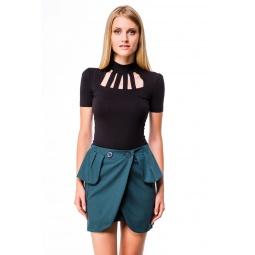 фото Блузка Mondigo 6142. Цвет: черный. Размер одежды: 46