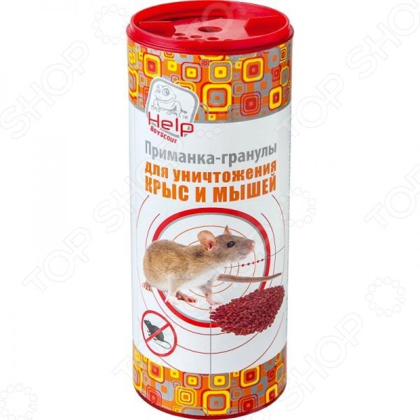 Приманка-гранулы для уничтожения крыс и мышей Help 80280