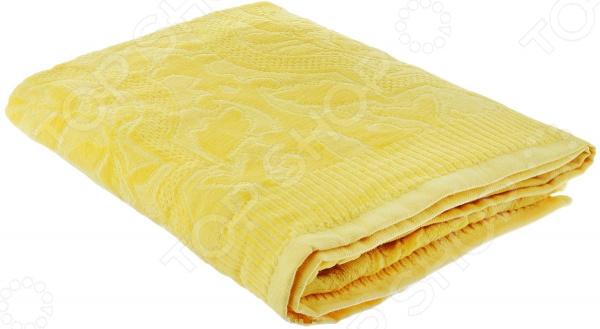 Полотенце велюровое Guten Morgen «Лимон»Полотенца<br>Невероятная мягкость и комфорт Ну какая ванная без полотенец Каждый из нас знает как приятно выйти из душа, укутавшись в мягкое уютное полотенце. К сожалению, часто случается, что после пары-тройки стирок полотенца теряют былую мягкость и становятся жесткими и неприятными на ощупь. Дабы этого избежать, к выбору домашнего текстиля следует подойти со всей ответственностью, учитывая не только размер и расцветку полотенца, но и качество используемых материалов.  Полотенце велюровое Guten Morgen Лимон это лучший выбор для вашей ванной комнаты. Оно очень мягкое и приятное на ощупь, выполнено из натуральной хлопковой махры и декорировано оригинальным рисунком. Хлопок отлично зарекомендовал себя в пошиве банного текстиля, благодаря гипоаллергенности, прочности и устойчивостью к истиранию. Полотенце хорошо впитывает влагу и оказывает легкое массажное воздействие на тело, не вызывая раздражения кожи.  Если полотенце, то только Guten Morgen! Компания Guten Morgen уже на протяжении более 20-ти лет занимается производством домашнего текстиля в том числе и банного . Изделия бренда пользуются неизменной популярностью и спросом у покупателей, ведь сочетают в себе прекрасное качество и стильный современный дизайн. Преимущества полотенец Guten Morgen:  использование натуральных гипоаллергенных материалов;  хорошая влаговпитываемость;  необыкновенная мягкость;  оптимальная длина ворса;  оригинальный дизайн;  использование стойких нетоксичных красителей;  полотенца не линяют и не теряют форму во время стирки.  Стирать полотенце рекомендуется в деликатном режиме при температуре не более 40 градусов. Не использовать агрессивные моющие средства.<br>