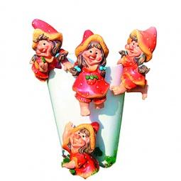 Купить Подвеска декоративная GREEN APPLE GRHP4-07 «Девочка»