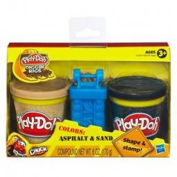 фото Набор пластилина Play-Doh Строительство дорог. В ассортименте