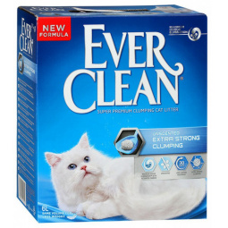 фото Наполнитель для кошачьего туалета Ever Clean Extra Strong Clumping Unscented 29009. Вес упаковки: 6 кг