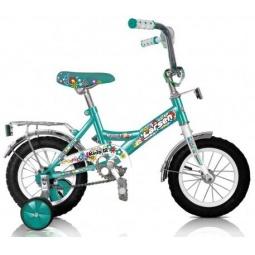 фото Велосипед Larsen Kids 12, 2013 года. Цвет: бирюзовый