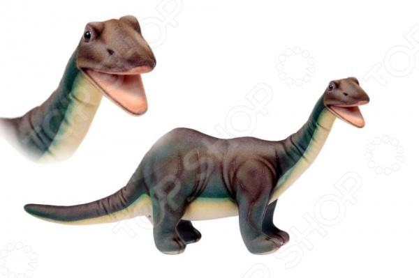 Мягкая игрушка Hansa «Бронтозавр» hansa мягкая игрушка бегемот