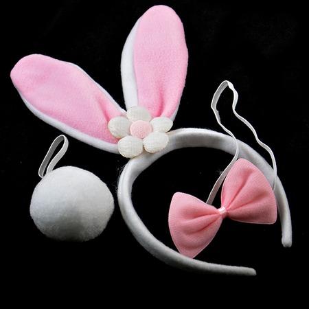 Купить Набор карнавальный Шампания «Зайчик» с цветочком