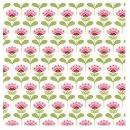 фото Отрез ткани Tilda Молли. Цвет: розовый