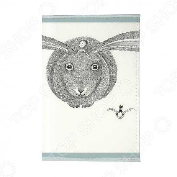 Визитница Mitya Veselkov «Кролик летит»Визитницы. Кредитницы<br>Визитница Mitya Veselkov Кролик летит  представляет собой аксессуар, предназначенный для размещения и хранения визиток и дисконтных карт. Визитница - неотъемлемый аксессуар, дополняющий образ современного делового человека. Такая визитница представит вас в выгодном свете перед сотрудниками и партнерами и оставит положительное впечатление. Интересный и стильный аксессуар станет приятным и полезным подарком для деловых людей. К визитнице прилагается прозрачная пластиковая вкладка на 36 визиток или 36 пластиковых карт. Размер вкладки: 6см х 9,5см.<br>