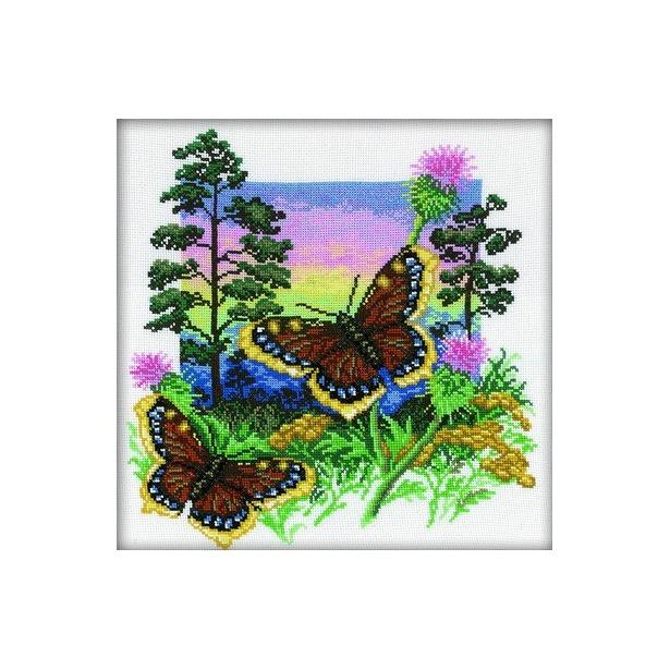 фото Набор для вышивания RTO «Бабочка шоколадница»