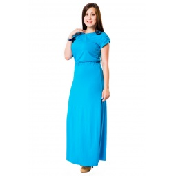 фото Платье Mondigo 27042. Цвет: бирюзовый. Размер одежды: 54
