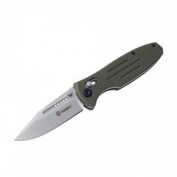фото Нож складной Ganzo G702. Цвет рукояти: зеленый. Цвет лезвия: серебристый