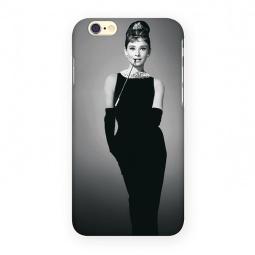 фото Чехол для iPhone 6 Mitya Veselkov «Одри в черном платье»