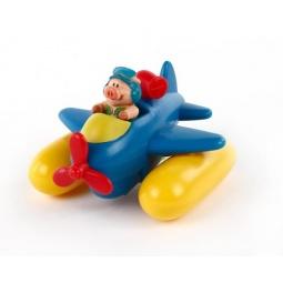 фото Игрушка для ванны Жирафики «Гонки заводные. Аэроплан»