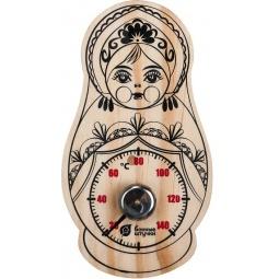 Купить Термометр для бани и сауны Банные штучки «Матрешка» 18046