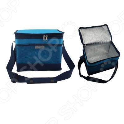 Сумка-холодильник Irit IRG-440Термосумки, сумки-холодильники<br>Сумка-холодильник Irit IRG-440 предназначена для транспортировки и хранения напитков и продуктов питания при определенном температурном режиме. Особенно удобно ее использовать в длительных поездках в жаркое время года. Модель выполнена из высокопрочных материалов 600D Polyester , сохраняет холод до 5 часов. Сумка имеет прямоугольную форму, снабжена вместительным отделением, молниевой застежкой и регулируемым наплечным ремнем.<br>