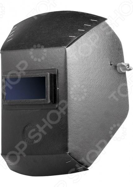 Маска для сварки 89121Маски для сварки<br>Маска для сварки 89121 станет отличным дополнением к набору ваших средств индивидуальной защиты. Она выполнена из негорючего фиброкартона и предназначена для надежной защиты глаз рабочего от ожогов и попадания брызг от сварочной дуги. Маска снабжена специальным фильтром и регулируемым подголовником.<br>