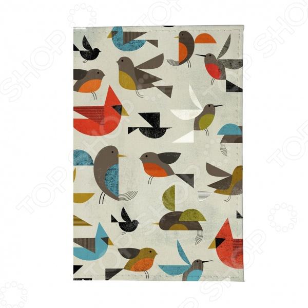 Обложка для паспорта Mitya Veselkov «Птички-невелички» чехол для iphone 5 mitya veselkov птички невелички