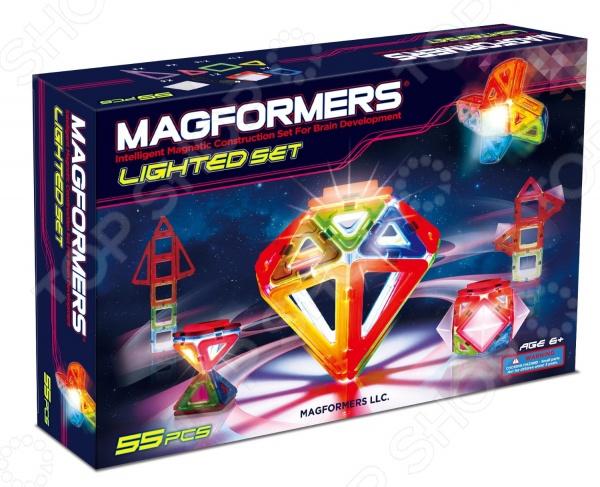 Magformers  Конструктор магнитный Lighted set