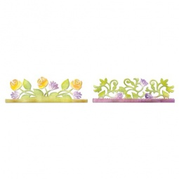 фото Форма для вырубки Sizzix Sizzlits Decorative Strip Die Розарий