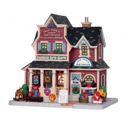 фото Домик керамический Lemax «Галерея ремесел и магазин: Старый город»