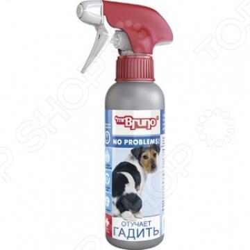 Спрей для коррекции поведения собак Mr.Bruno «Отучает гадить» спрей для коррекции поведения animal play отучение гадить для собак и кошек 200 мл