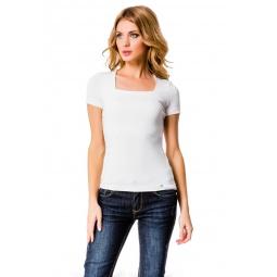 фото Футболка Mondigo 6074. Цвет: белый. Размер одежды: 44