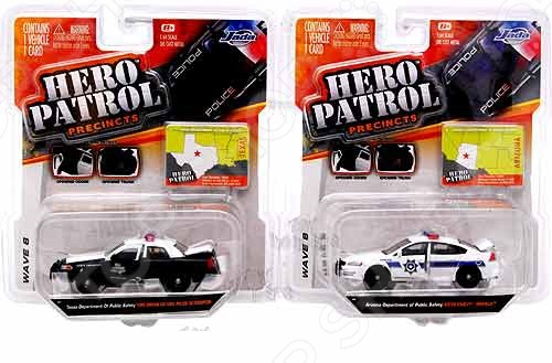 Модель автомобиля 1:64 Jada Toys Here Patrol Assortment jada diekast here patrol assortment 1 64