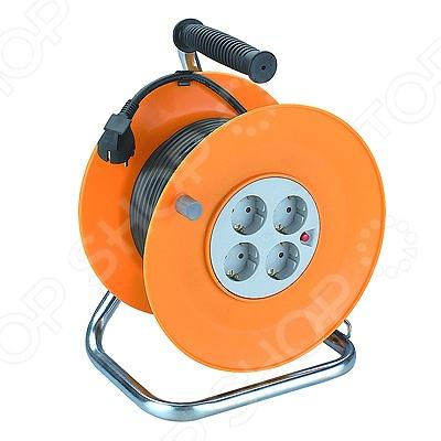 Удлинитель силовой на катушке из пластика Эра RP-4-3x1.0-50m Эра - артикул: 560511