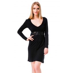 фото Платье Mondigo 8604. Цвет: черный. Размер одежды: 42