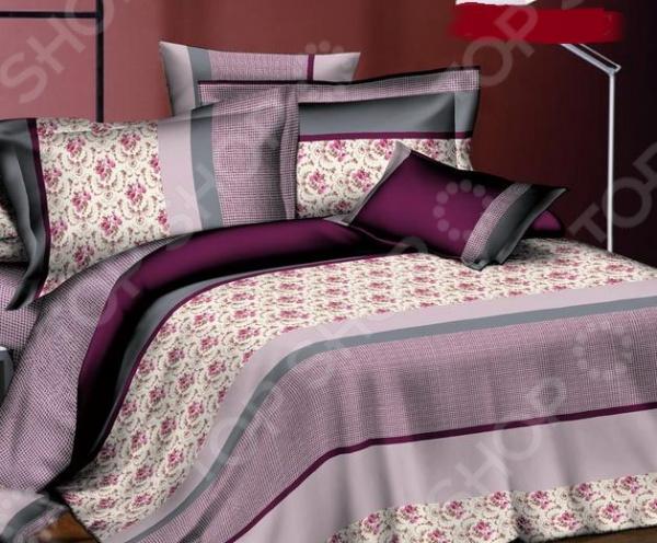 Комплект постельного белья BegAl ВТ001-И15. 1,5-спальный1,5-спальные<br>Комплект постельного белья BegAl ВТ001-И15 оптимальный выбор для современной спальни. Комплект произведен из поплина 100 хлопковой ткани. Материал приятный на ощупь, выдерживает множество стирок и хорошо держит форму. Преимущества:  Легко стирать и гладить, не беспокоясь о потере формы.  Показатели усадки минимальны, поэтому белье всегда будет соответствовать заявленным размерам.  Поплин обладает высокой стойкостью к бытовому трению, поэтому выдерживает множество стирок. Уход: Стирать при температуре 60 С. Не отбеливать. Сушка в стиральной машине при нормальной температуре. Гладить можно при высокой температуре. Химическая чистка запрещена.<br>