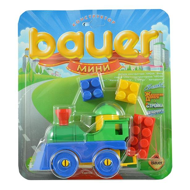 фото Конструктор для ребенка Bauer «Паровозик»