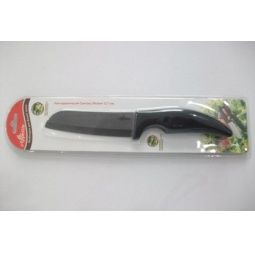 фото Нож керамический Appetite Сантоку с изогнутой рукоятью
