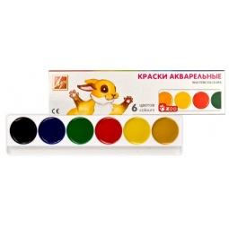 Купить Акварель медовая Луч «Зоо»: 6 цветов