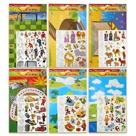 Купить Наклейки декоративные Amico 13320. В ассортименте