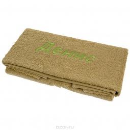 фото Полотенце подарочное с вышивкой TAC Денис. Цвет: оливковый