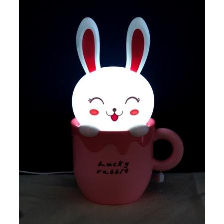 Купить Лампа-ночник настольная 31 век «Счастливый кролик»