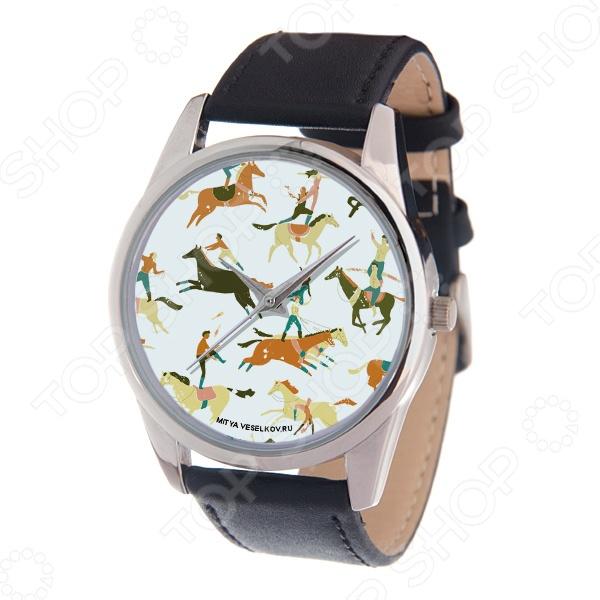 Часы наручные Mitya Veselkov «Цирковые лошади» MV часы наручные mitya veselkov часы mitya veselkov одри на белом курит арт mv 38