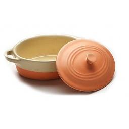 фото Горшочки для запекания Mayer&Boch «Ужин вдвоем». Цвет: оранжевый
