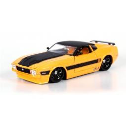 фото Модель автомобиля 1:24 Jada Toys 1973 Ford Mustang Mach 1. Цвет: желтый