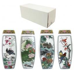 Купить Ваза Elan Gallery «Птицы в цветах» 501920