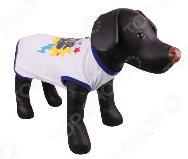 Футболка для собак DEZZIE «Герда» мф герда 34 крем ольха