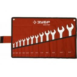 фото Набор ключей рожковых Зубр «Мастер» 27010-H12