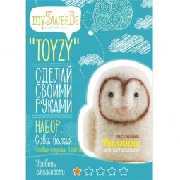 фото Набор для изготовления мягкой игрушки mySweeBe «Сова белая»