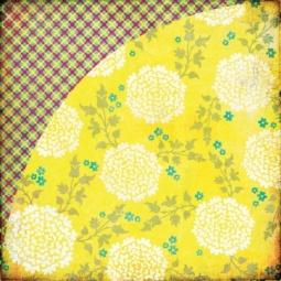 Купить Бумага для скрапбукинга Basic Grey Lemon Zest
