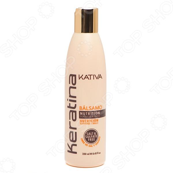 Крем укрепляющий с кератином для укладки всех типов волос Kativa