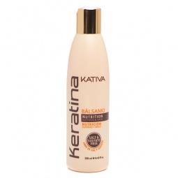 Купить Крем укрепляющий с кератином для укладки всех типов волос Kativa