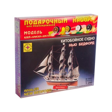 Купить Сборная модель китобойного судна Моделист «Нью Бедфорд»