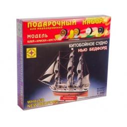 фото Сборная модель китобойного судна Моделист «Нью Бедфорд»
