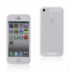 фото Чехол и пленка на экран для iPhone 5 Yoobao Protect Case. Цвет: белый