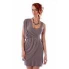 Фото Платье Mondigo 8611. Цвет: карамельный. Размер одежды: 44